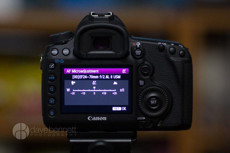 Lens Calibration - davebennett photography